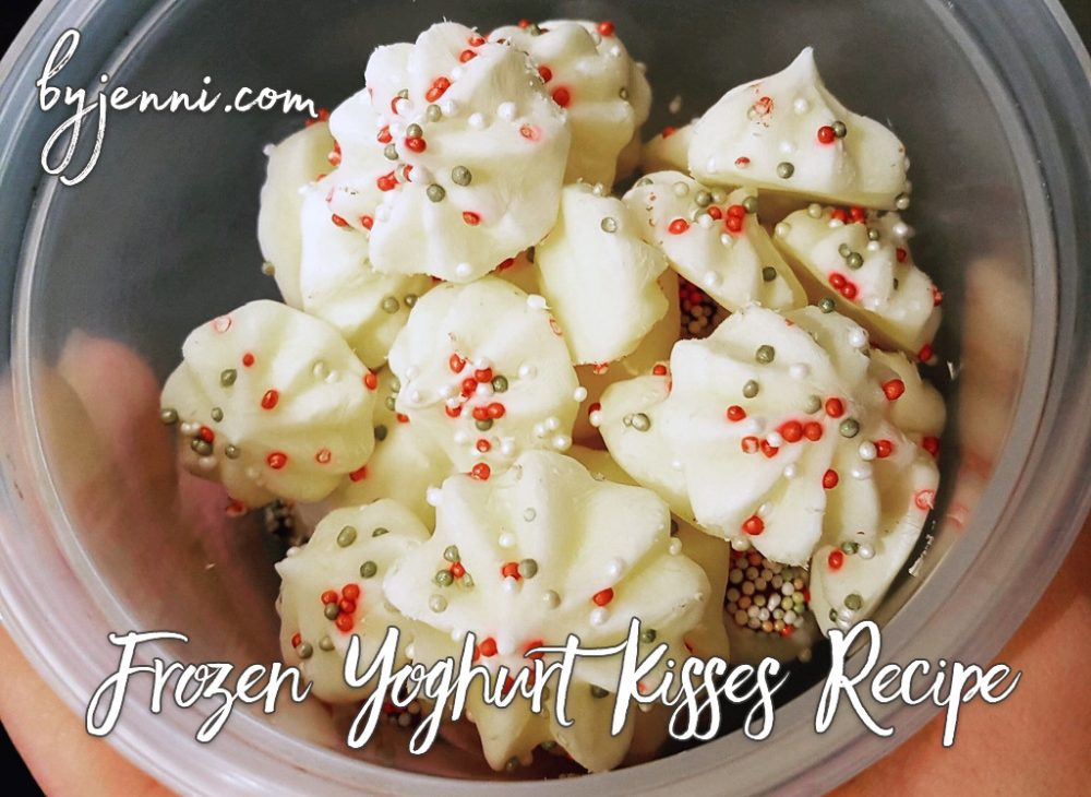 Frozen Yoghurt Kisses Recipe