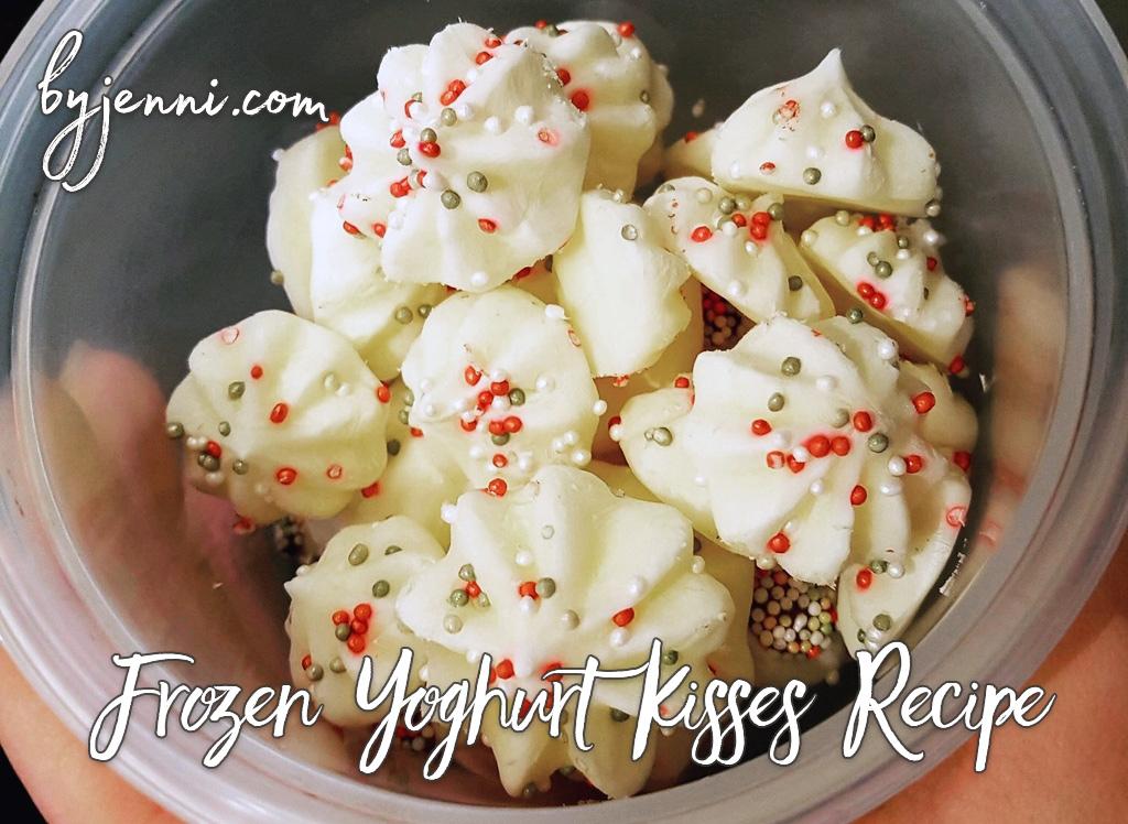 Frozen Yoghurt Kisses Recipe