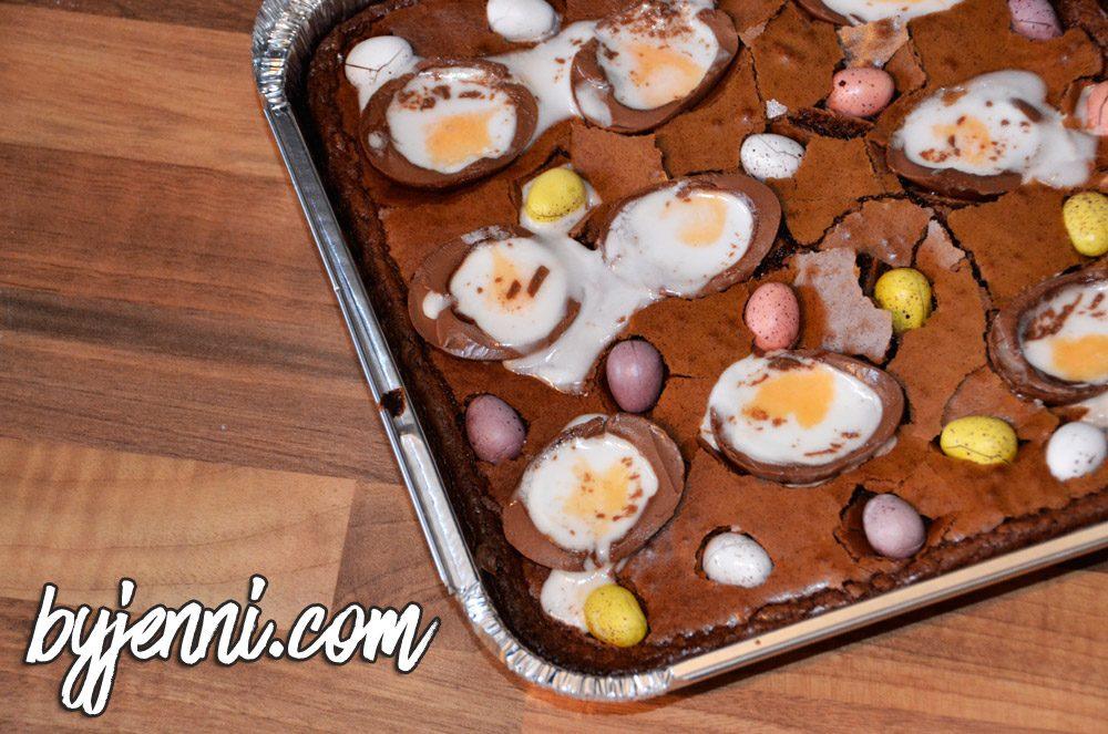 Creme Egg Brownie Recipe